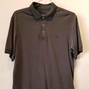 Tommy Bahama Men's Polo  Grey Shirt Size M